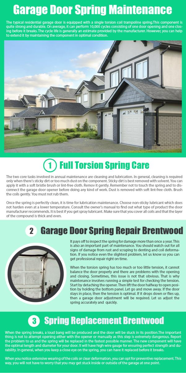 Door Repair Brentwood Infographic .